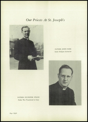 Page 12, 1952 Edition, St Joseph High School - Gold and Blue Yearbook (Huntington, WV) online yearbook collection