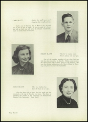Page 16, 1952 Edition, St Joseph High School - Gold and Blue Yearbook (Huntington, WV) online yearbook collection