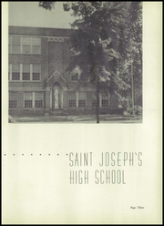 Page 7, 1952 Edition, St Joseph High School - Gold and Blue Yearbook (Huntington, WV) online yearbook collection
