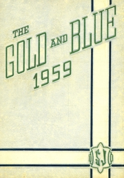 1959 Edition, St Joseph High School - Gold and Blue Yearbook (Huntington, WV)
