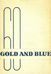 1960 Edition, St Joseph High School - Gold and Blue Yearbook (Huntington, WV)