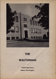 Page 5, 1953 Edition, Walton High School - Waltonian Yearbook (Walton, WV) online yearbook collection