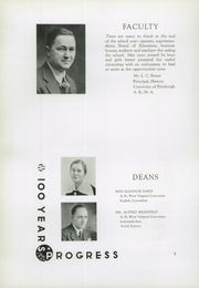 Page 12, 1936 Edition, Warwood High School - Warrior Yearbook (Wheeling, WV) online yearbook collection