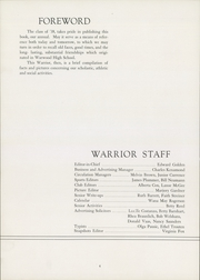 Page 6, 1938 Edition, Warwood High School - Warrior Yearbook (Wheeling, WV) online yearbook collection