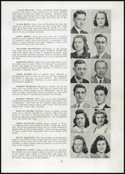 Page 13, 1941 Edition, Warwood High School - Warrior Yearbook (Wheeling, WV) online yearbook collection