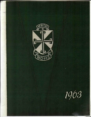 1963 Edition, Bishop Donahue High School - Veritas Yearbook (McMechen, WV)