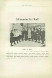 Page 6, 1923 Edition, Pennsboro High School - Mountain Ear Yearbook (Pennsboro, WV) online yearbook collection