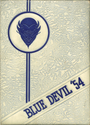 Page 1, 1954 Edition, Sutton High School - Blue Devil Yearbook (Sutton, WV) online yearbook collection