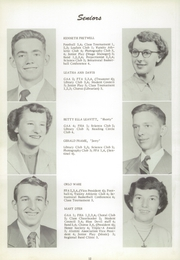 Page 16, 1954 Edition, Sutton High School - Blue Devil Yearbook (Sutton, WV) online yearbook collection