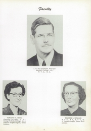 Page 9, 1954 Edition, Sutton High School - Blue Devil Yearbook (Sutton, WV) online yearbook collection
