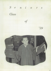 Page 13, 1959 Edition, Union High School - Messenger Yearbook (Benwood, WV) online yearbook collection