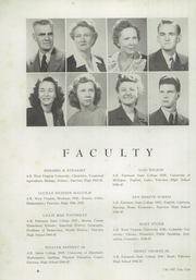 Page 10, 1947 Edition, Fairview High School - Paw Paw Yearbook (Fairview, WV) online yearbook collection
