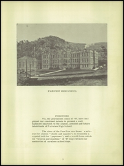 Page 7, 1949 Edition, Fairview High School - Paw Paw Yearbook (Fairview, WV) online yearbook collection
