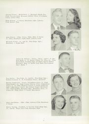 Page 13, 1954 Edition, Barrackville High School - Bisoneer Yearbook (Barrackville, WV) online yearbook collection
