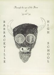 Page 5, 1954 Edition, Barrackville High School - Bisoneer Yearbook (Barrackville, WV) online yearbook collection