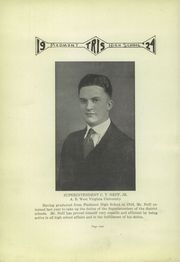 Page 10, 1924 Edition, Piedmont High School - Tris Yearbook (Piedmont, WV) online yearbook collection
