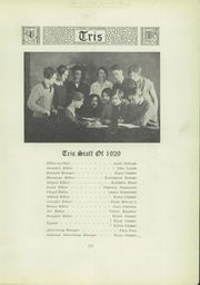 Page 13, 1929 Edition, Piedmont High School - Tris Yearbook (Piedmont, WV) online yearbook collection