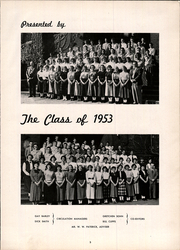 Page 7, 1953 Edition, Beaver High School - Beaver Memories Yearbook (Bluefield, WV) online yearbook collection