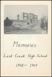 Page 9, 1949 Edition, Lost Creek High School - Memories Yearbook (Lost Creek, WV) online yearbook collection