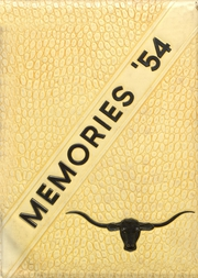 1954 Edition, Lost Creek High School - Memories Yearbook (Lost Creek, WV)