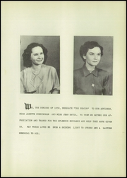 Page 7, 1950 Edition, Sand Fork High School - Beacon Yearbook (Sand Fork, WV) online yearbook collection