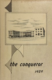 Page 1, 1959 Edition, Mountain State High School - Conqueror Yearbook (Alderson, WV) online yearbook collection