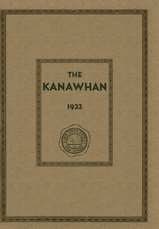 1933 Edition, Cabin Creek High School - Kanawhan Yearbook (East Bank, WV)
