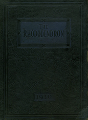 Page 1, 1930 Edition, Buckhannon High School - Rhododendron Yearbook (Buckhannon, WV) online yearbook collection
