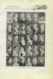 Page 11, 1930 Edition, Buckhannon High School - Rhododendron Yearbook (Buckhannon, WV) online yearbook collection