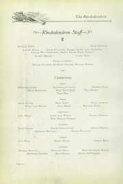 Page 12, 1930 Edition, Buckhannon High School - Rhododendron Yearbook (Buckhannon, WV) online yearbook collection