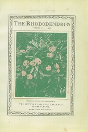 Page 7, 1930 Edition, Buckhannon High School - Rhododendron Yearbook (Buckhannon, WV) online yearbook collection