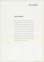 Page 13, 1942 Edition, Salem College - Dirigo Yearbook (Salem, WV) online yearbook collection