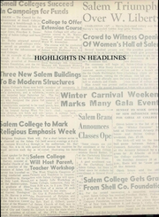 Page 12, 1962 Edition, Salem College - Dirigo Yearbook (Salem, WV) online yearbook collection