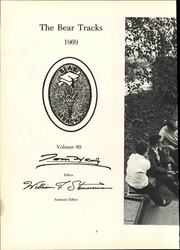 Page 8, 1969 Edition, West Virginia University Institute of Technology - Bear Tracks Yearbook (Montgomery, WV) online yearbook collection