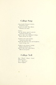 Page 11, 1922 Edition, Shepherd University - Cohongoroota Yearbook (Shepherdstown, WV) online yearbook collection