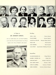 Page 16, 1951 Edition, Shepherd University - Cohongoroota Yearbook (Shepherdstown, WV) online yearbook collection