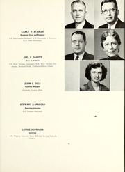 Page 15, 1952 Edition, Shepherd University - Cohongoroota Yearbook (Shepherdstown, WV) online yearbook collection