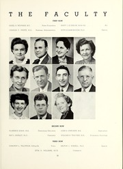 Page 17, 1952 Edition, Shepherd University - Cohongoroota Yearbook (Shepherdstown, WV) online yearbook collection