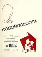 Page 5, 1952 Edition, Shepherd University - Cohongoroota Yearbook (Shepherdstown, WV) online yearbook collection