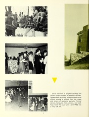 Page 12, 1962 Edition, Shepherd University - Cohongoroota Yearbook (Shepherdstown, WV) online yearbook collection
