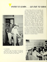 Page 8, 1962 Edition, Shepherd University - Cohongoroota Yearbook (Shepherdstown, WV) online yearbook collection