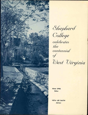 Page 3, 1963 Edition, Shepherd University - Cohongoroota Yearbook (Shepherdstown, WV) online yearbook collection