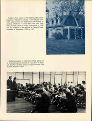 Page 9, 1963 Edition, Shepherd University - Cohongoroota Yearbook (Shepherdstown, WV) online yearbook collection
