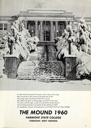 Page 5, 1960 Edition, Fairmont State University - Mound Yearbook (Fairmont, WV) online yearbook collection