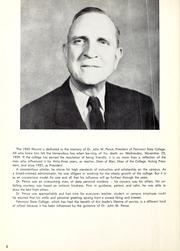 Page 6, 1960 Edition, Fairmont State University - Mound Yearbook (Fairmont, WV) online yearbook collection