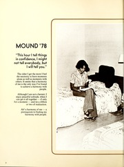 Page 6, 1978 Edition, Fairmont State University - Mound Yearbook (Fairmont, WV) online yearbook collection