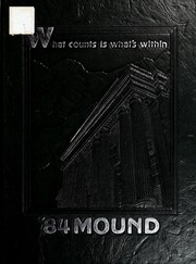 Page 1, 1984 Edition, Fairmont State University - Mound Yearbook (Fairmont, WV) online yearbook collection