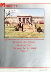 Page 5, 1984 Edition, Fairmont State University - Mound Yearbook (Fairmont, WV) online yearbook collection