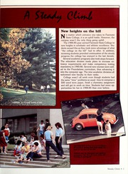 Page 7, 1985 Edition, Fairmont State University - Mound Yearbook (Fairmont, WV) online yearbook collection