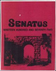 1972 Edition, Davis and Elkins College - Senatus Yearbook (Elkins, WV)